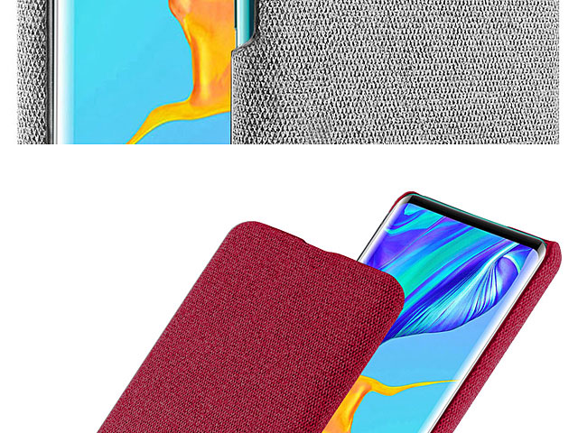 Huawei P30 Pro Fabric Canvas Back Case