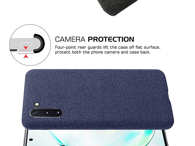 Samsung Galaxy Note10 Fabric Canvas Back Case
