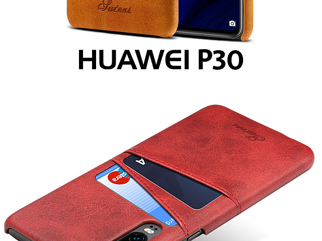 Huawei P30 Claf PU Leather Case with Card Holder