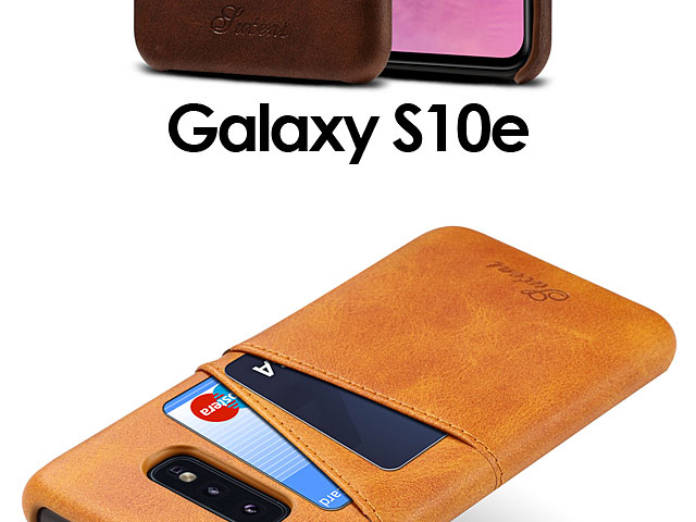 Samsung Galaxy S10e Claf PU Leather Case with Card Holder
