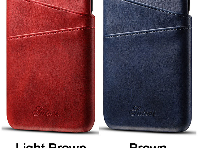iPhone XS (5.8) Claf PU Leather Case with Card Holder