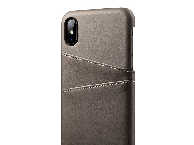 iPhone XS Max (6.5) Claf PU Leather Case with Card Holder