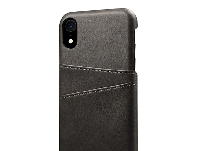 iPhone XR (6.1) Claf PU Leather Case with Card Holder