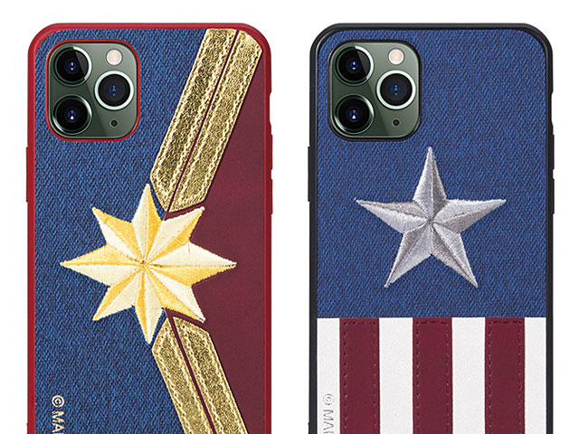 Marvel Series Embroidery TPU Case for iPhone 11 Pro (5.8)