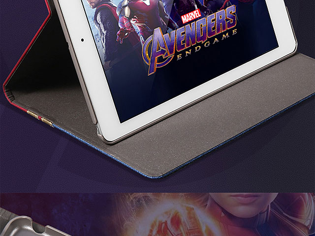 Marvel Series Embroidery Flip Case for iPad Air (2019)