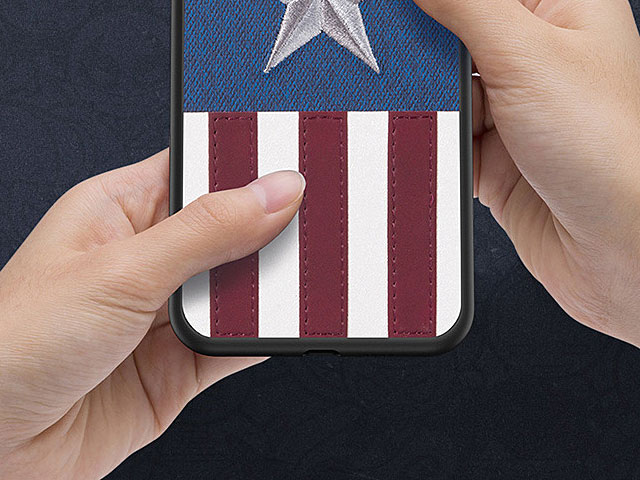 Captain America Embroidery TPU Case for Huawei P30