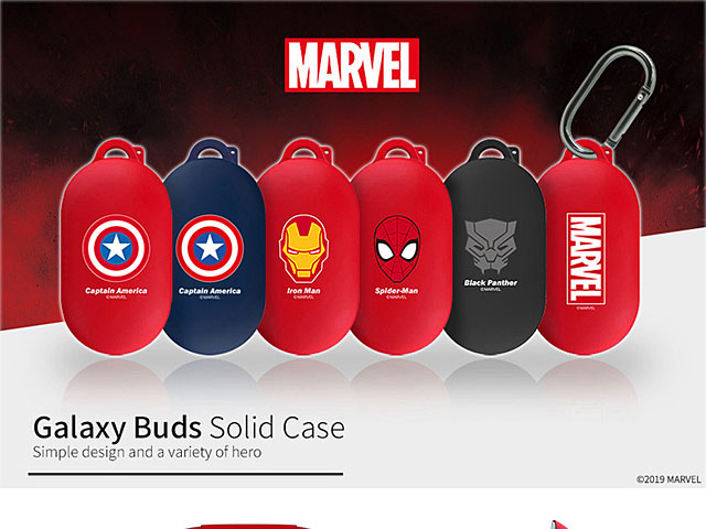 Marvel Series Samsung Galaxy Buds Case