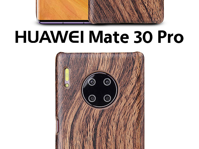 Huawei Mate 30 Pro Woody Patterned Back Case