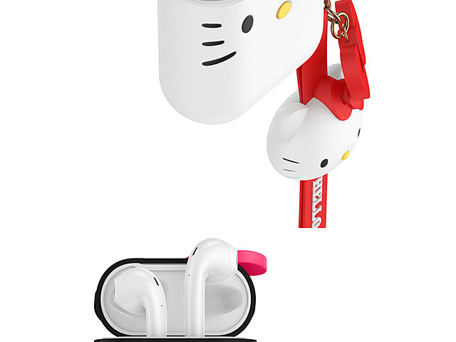 Hello Kitty AirPods Case with Hand Strap