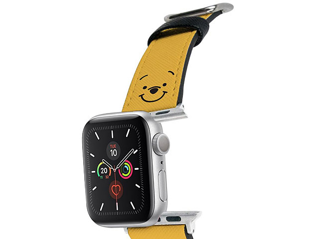 Disney Winnie The Pooh Leather Watch Band for Apple Watch 1~5 series