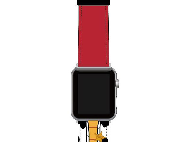 Disney Toy Story - Woody Leather Watch Band for Apple Watch 1~5 series