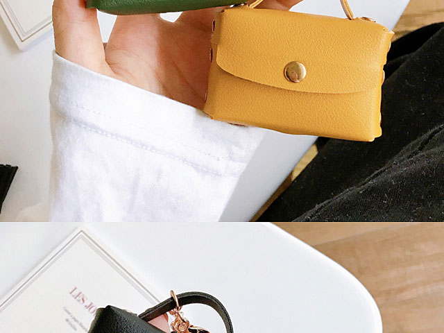Leather Handbag AirPods Pro Case