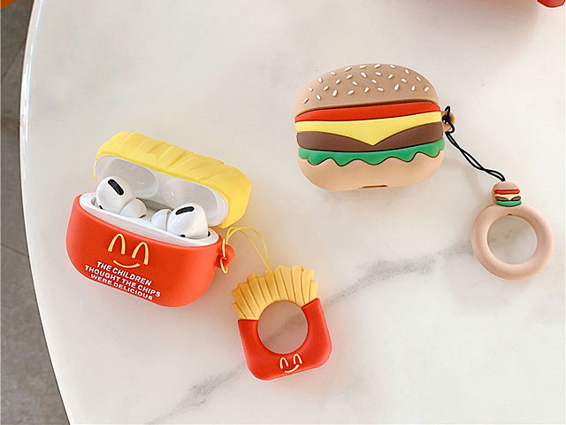 Fast Food Shape AirPods Pro Case