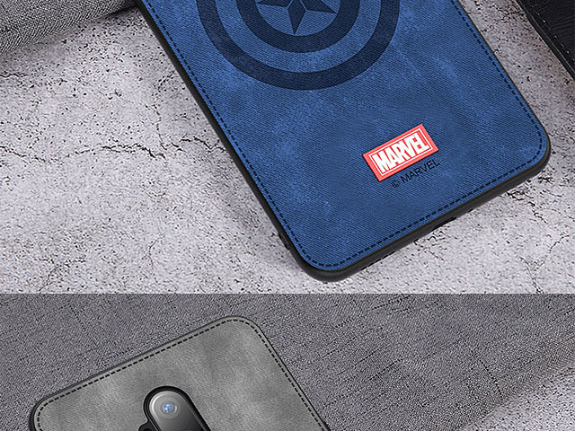 Marvel Series Fabric TPU Case for OnePlus 7T Pro