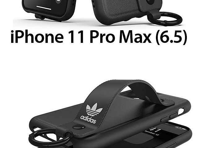 Adidas Orginals Adjustable Wrist Strap Kickstand Sports Case for iPhone 11 Pro Max (6.5)