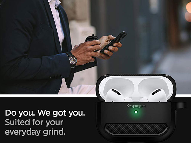 Spigen Rugged Armor Case for Apple AirPods Pro