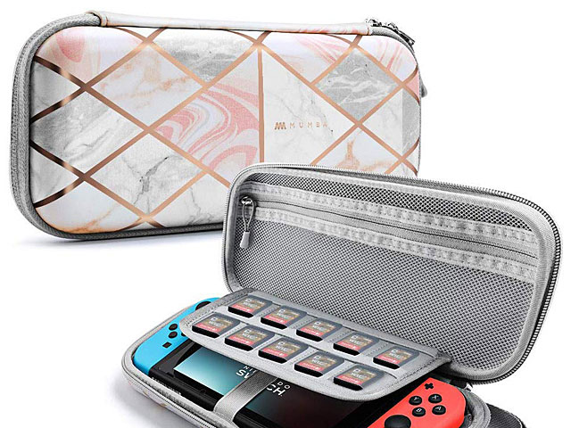 Mumba Deluxe Ulta Slim Hard Shell Travel Case for Nintendo Switch