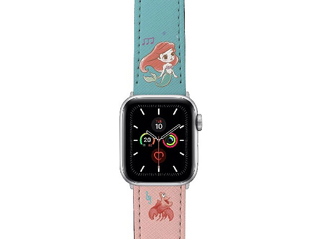 Disney The Little Mermaid - Ariel Sadness Leather Watch Band