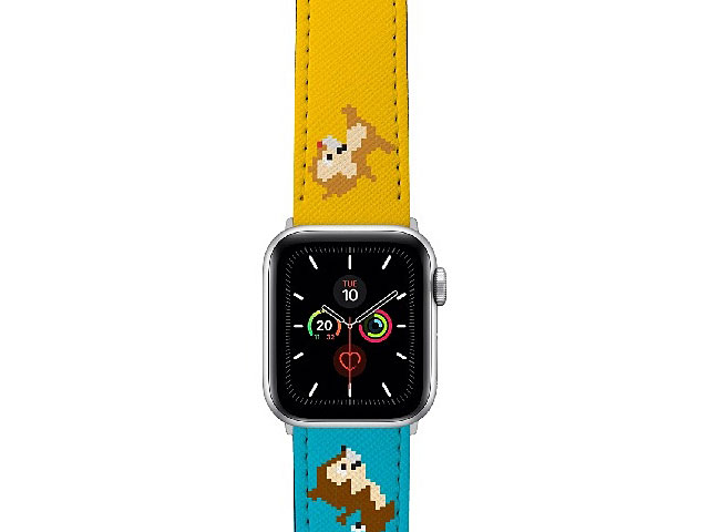 Disney Chip & Dale Sadness Leather Watch Band