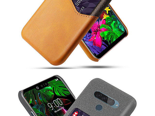 LG G8s ThinQ Two-Tone Leather Case with Card Holder
