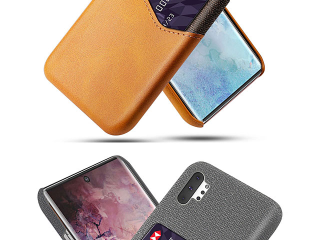Samsung Galaxy Note10+ Two-Tone Leather Case with Card Holder