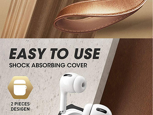 Supcase Unicorn Beetle Pro Rugged Case with Hand-Strap for Apple AirPods Pro
