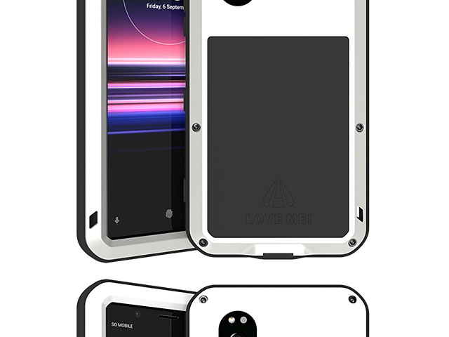 LOVE MEI Sony Xperia 5 Powerful Bumper Case