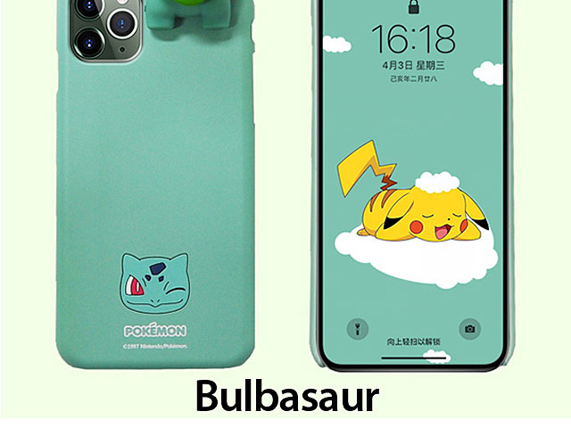 3D Pokemon Series Soft Case for iPhone 11 Pro (5.8)