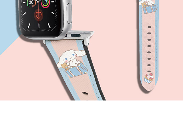 Sanrio Series - Cinnamoroll Leather Watch Band