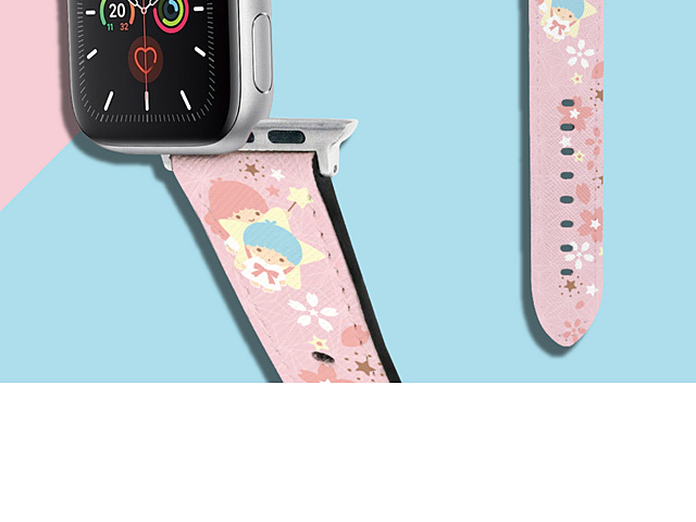 Sanrio Series - Little Twin Stars Leather Watch Band