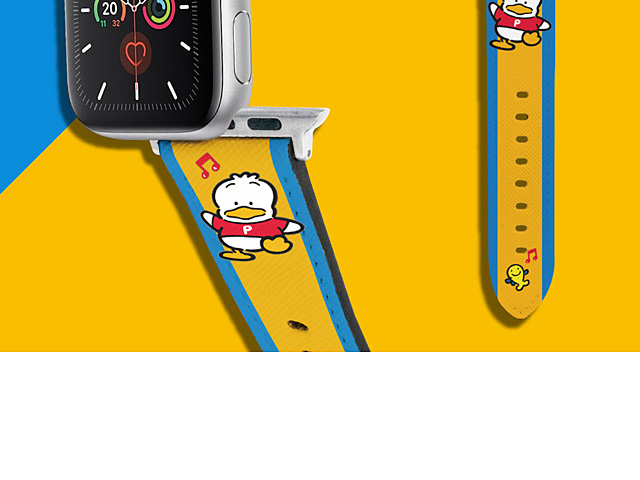 Sanrio Series - Ahiru No Pekkle Leather Watch Band
