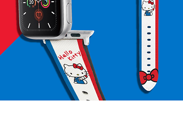 Sanrio Series - Hello Kitty Leather Watch Band