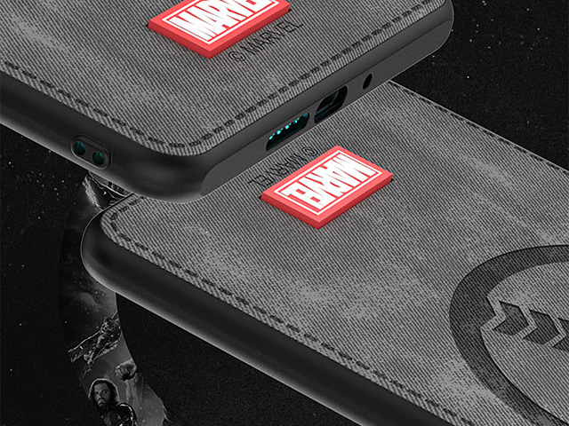 Marvel Series Fabric TPU Case for Huawei P40