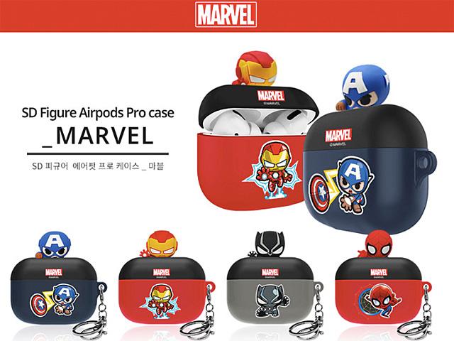 3d Figure Marvel Series Airpods Pro Case