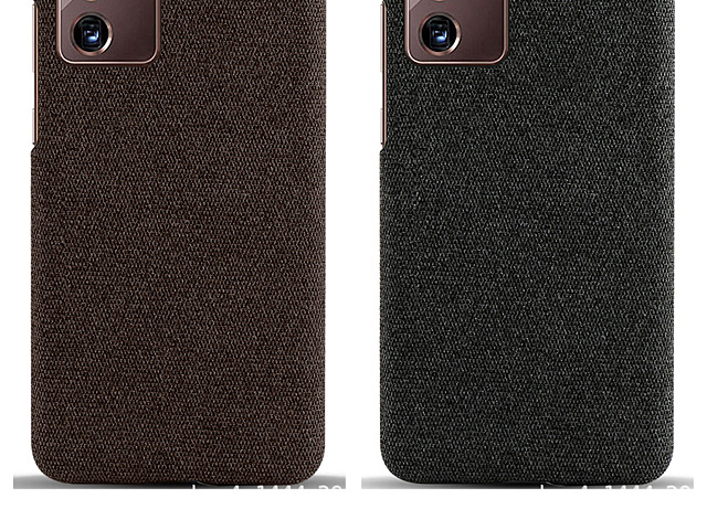 Samsung Galaxy Note20 Ultra / Note20 Ultra 5G Fabric Canvas Back Case