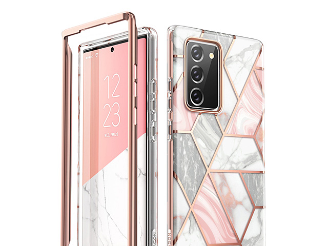i-Blason Cosmo Slim Designer Case (Pink Marble) for Samsung Galaxy Note20 / Note20 5G