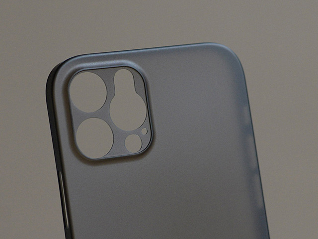 iPhone 12 (6.1) 0.5mm Ultra-Thin Back Hard Case