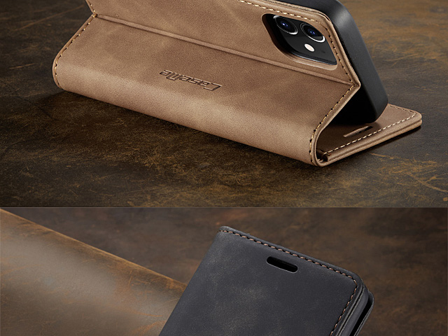 iPhone 12 mini (5.4) Retro Flip Leather Case