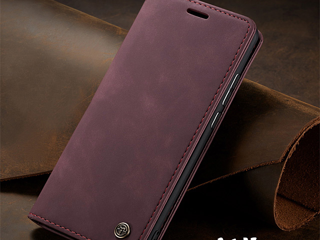 iPhone 12 (6.1) Retro Flip Leather Case