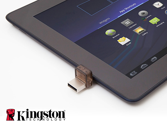 Kingston DataTraveler microDuo OTG USB Flash Drive