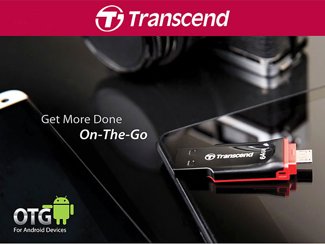 Transcend JetFlash 340 OTG USB Flash Drive
