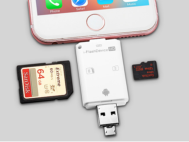 3-in-1 i-FlashDrive HD II