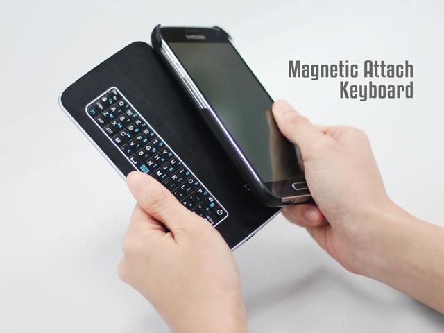 Bluetooth Keyboard Case For Samsung Galaxy S5