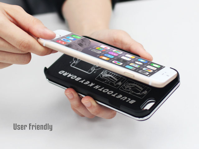 iPhone 6 / 6s Ultra-thin Slide-out Bluetooth Backlight Keyboard