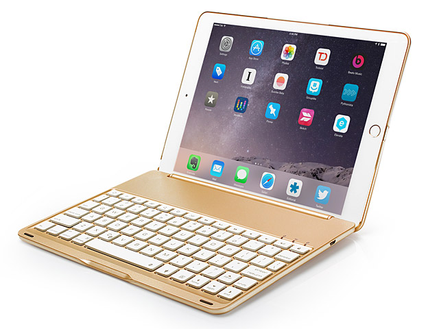 Illuminated Bluetooth Keyboard with Cover for iPad 9.7