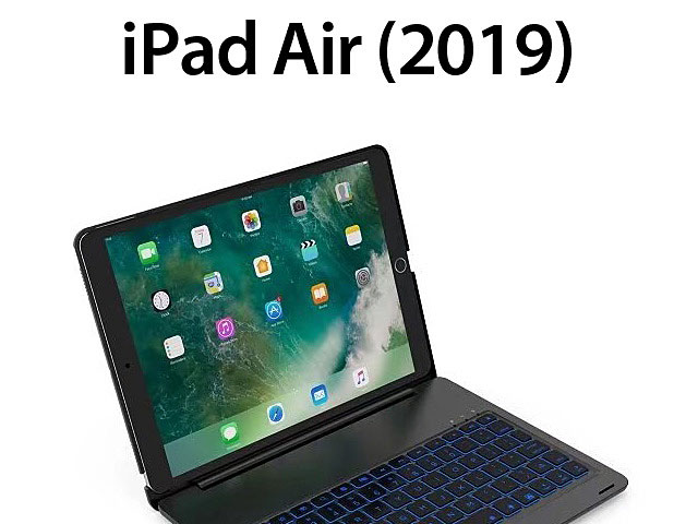 Illuminated Bluetooth Keyboard with Cover for iPad Air (2019)