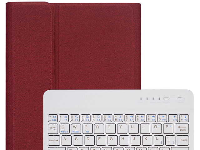 iPad mini (2019) Bluetooth Keyboard Case with Apple Pencil Holder