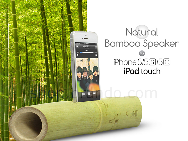 iPhone 5s / SE Natural Bamboo Speaker