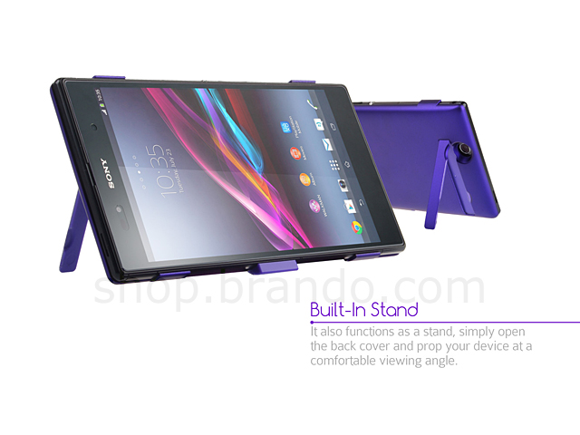Power Case for Sony Xperia Z Ultra - 4500mAh (Purple Edition)