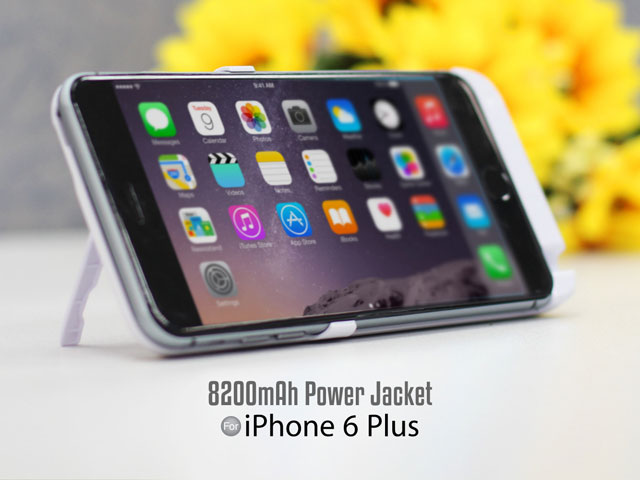 Power Jacket For iPhone 6 Plus / 6s Plus - 8200mAh
